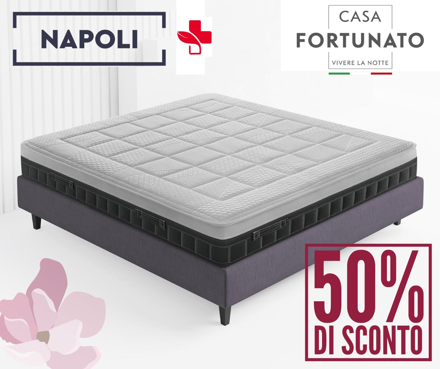 Materasso Napoli Sconto 50%